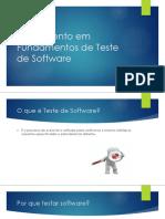 Treinamento Teste de Software