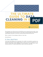 Guide to Data Cleaning in Ms Excel