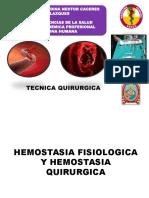 HEMOSTASIA FISIOLOGICA