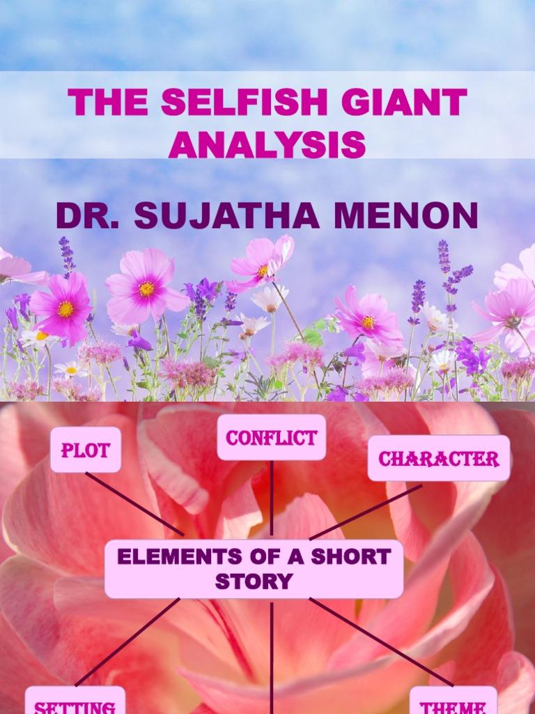 the selfish giant short summary