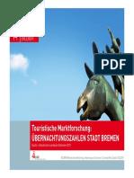 Marktforschung Tourismus in Bremen