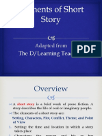 Lecture 1 Elements of Short Story Simplified