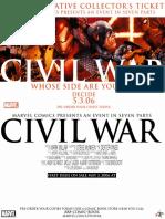 Guerra Civil - Extras #131