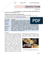 19.545 Farming System Aquaculture Production Innovative Farming