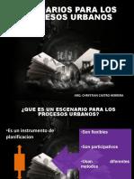 ESCENARIOS PARA LOS PROCESOS URBANOS.pptx
