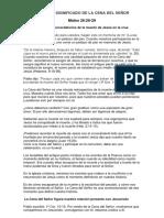 EL TRIPLE SIGNIFICADO DE LA CENA DEL SEÑOR.docx