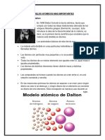 Modelos Atomicos Mas Importantes