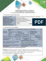 desarrollo del componente práctico Toxicologico