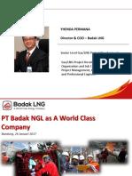 Presentasi PTB as World Class Company