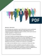 Resumen Unidad 4.1 Contexto Social de La Profesión