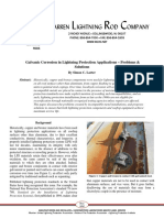 Galvanic Corrosion in Lightning Protection Applications WARREN