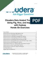 Data Analyst Training Exercise Manual 201403