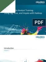 Data Analyst Training 201403