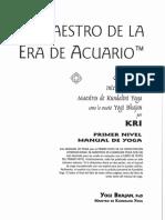 El Maestro de La Era Acuario.manuAL de YOGA