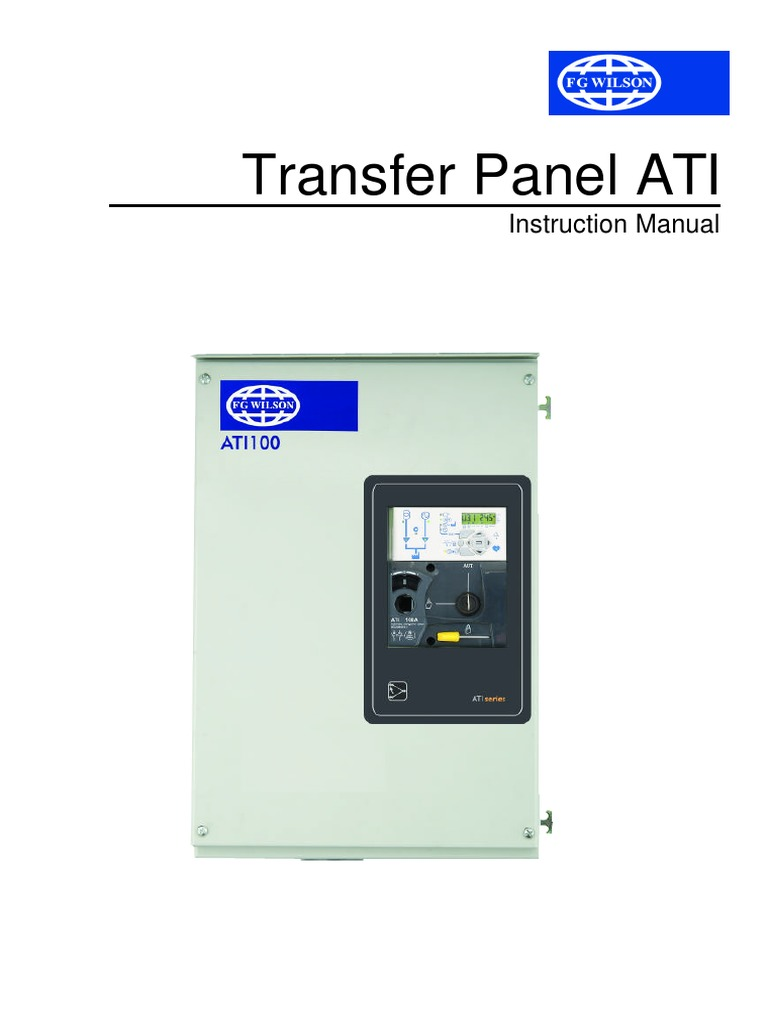 141203724-ATI-Instruction-Manual-Transfer-Panel.pdf   Switch   Mains  ElectricityScribd
