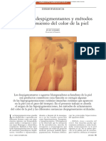 Dermocosmética - Sustancias Despigmentantes de La Piel