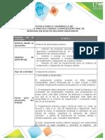 Protocolo Para El Desarrollo Del Componente Práctico Unidad 3