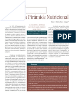 Reconstruyendo La Piramide Nutricional