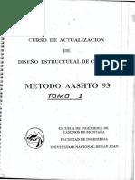 Curso de Diseño Estructura de Cainos Metodo Aashto 93