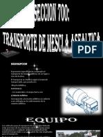 Transportes Materiales de Construccion