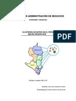 Cluster de Mypes-Macro Región Sur