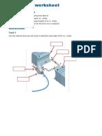 Dc Machine Worksheet