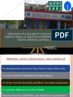 Potential in Small & medium enterprises for banking sector