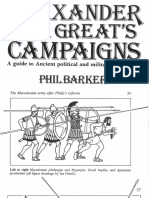 Alexander the Great's Campaigns (Illustrations by Ian Heath)