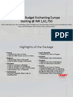 Summer Budget Enchanting Europe With SOTC Holidays
