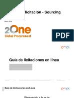 Anexo 9. 2One Manual Acceso a Portal de Compras