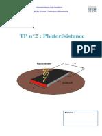 Tp2 phototransistor