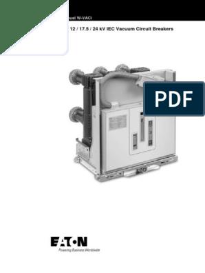 W-VACi 12,17 5,24 KV IEC Vacuum Circuit Breakers User Manual