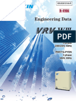 Vrv-wiii Engineering Data