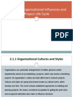 2.1 Organizational Influences on Project Management
