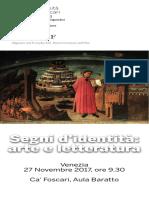 Programma convegno Venezia