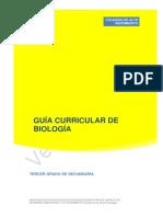 Guía Curricular de Biología