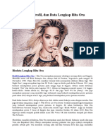 Biodata, Profil, Dan Data Lengkap Rita Ora