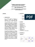 Laboratorio Electronica i Rectificador