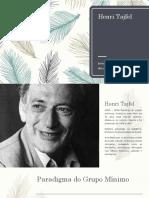 Tajfel e Zimbardo_teoria