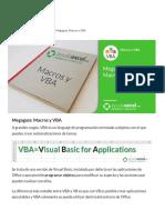 Megaguía Macros y VBA - Ayuda Excel