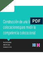 Construcción Lista Colocaciones