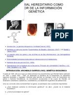 07-El Material Hereditario Como Portador de La Información Genética