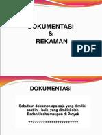 5. Dokumentasi & Rekaman.ppt