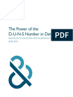 The Power of the DUNS Number in Data.com