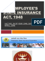 THE EMPLOYEE'S STATE INSURANCE ACT, 1948