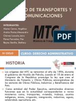 Ministerio de Transportes y Telecomunicaciones Final 1