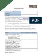 International Studentship Form v3.1