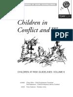 Niños en Conflicto y Guerra