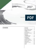 manual de chevrolet Trax  2017