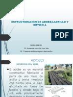 Estructuración de Adobe Concreto Ladrillo Drywall (1)
